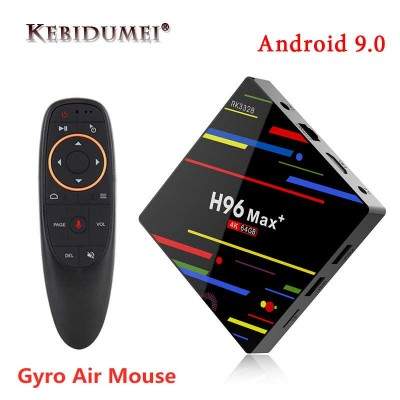Smart TV приставка Android Box H96 Max (2Gb/16Gb/Android 9)