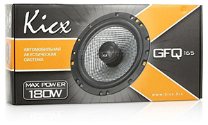 Новинка Kicx GFQ-165